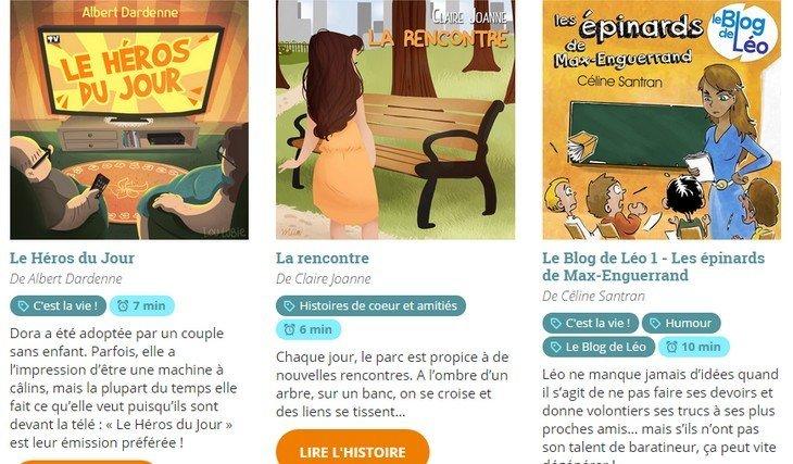 Short Édition Jeunesse : le plein d'histoires courtes pour ton smartphone !