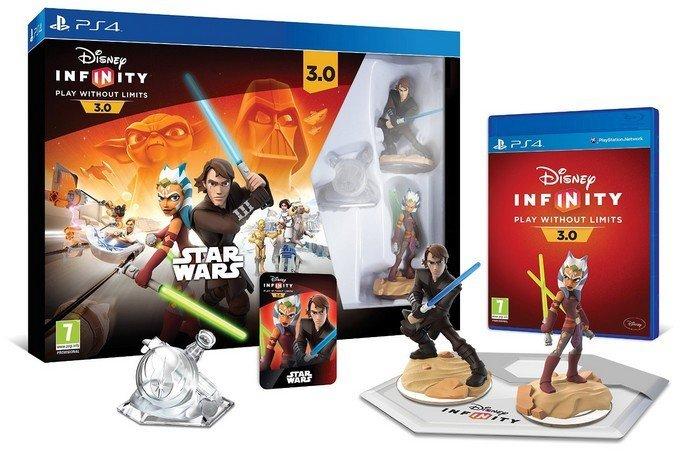 Sortie de Disney Infinity 3.0 Star Wars pack démarrage