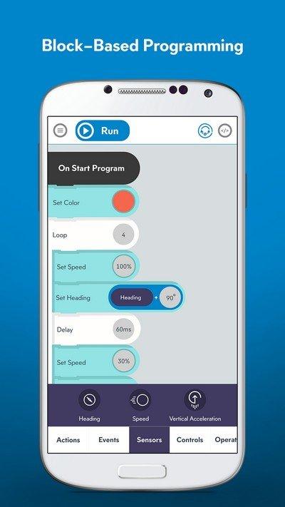 Sphero SPRK app
