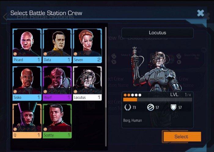 Star Trek Timesline crew