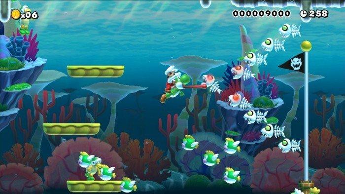 Super Mario Maker niveau