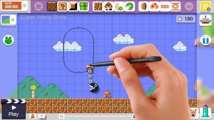 Super Mario Maker : crée ton propre jeu Super Mario (Wii U) !