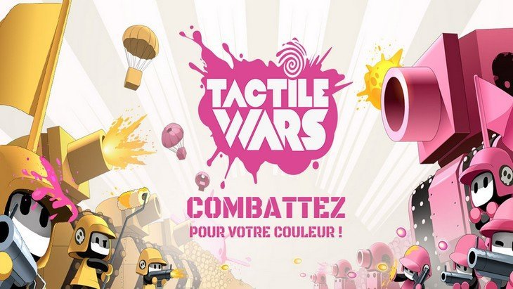Tactile Wars : un jeu mobile génial entre Splatoon et Boom Beach