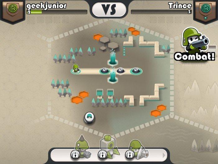 Tactile wars gameplay 2