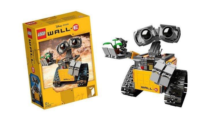 Le robot Wall-E en version LEGO, c'est pour bientôt