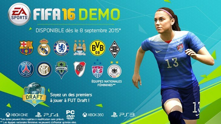FIFA 16 : la démo est disponible (PC, Xbox, PlayStation) !