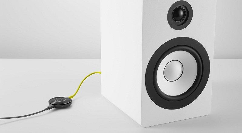 Chromecast Audio branché