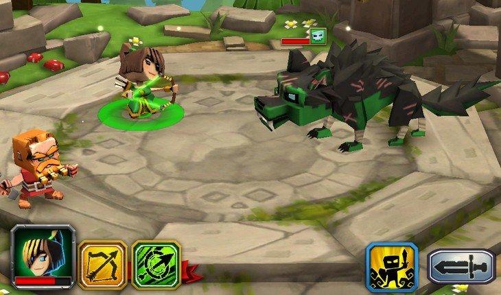 Deviens le boss dans Dungeon Boss, un jeu de rôle sur iPhone et Android
