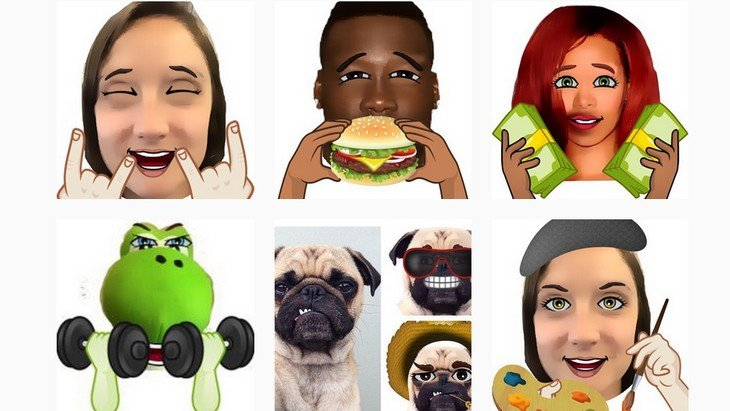 Emojiface : l'application pour transformer un selfie en emoji