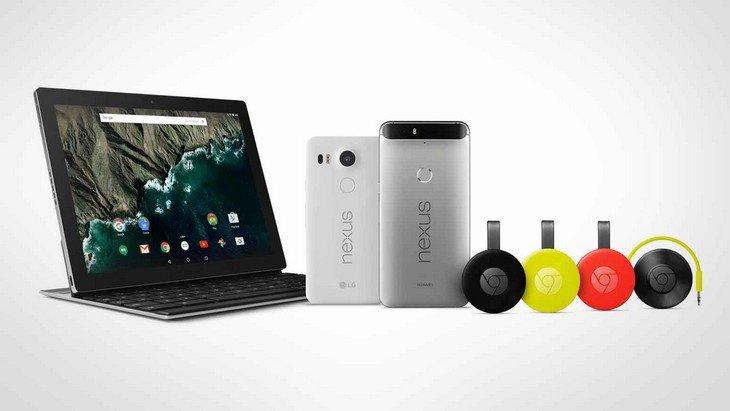 Google présente ses smartphones Nexus 6P et Nexus 5X et bien d'autres nouveautés