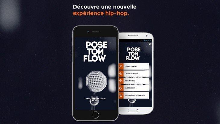 Pose Ton Flow, l'application pour créer tes morceaux de rap !