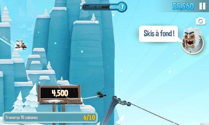Ski Safari 2 gameplay