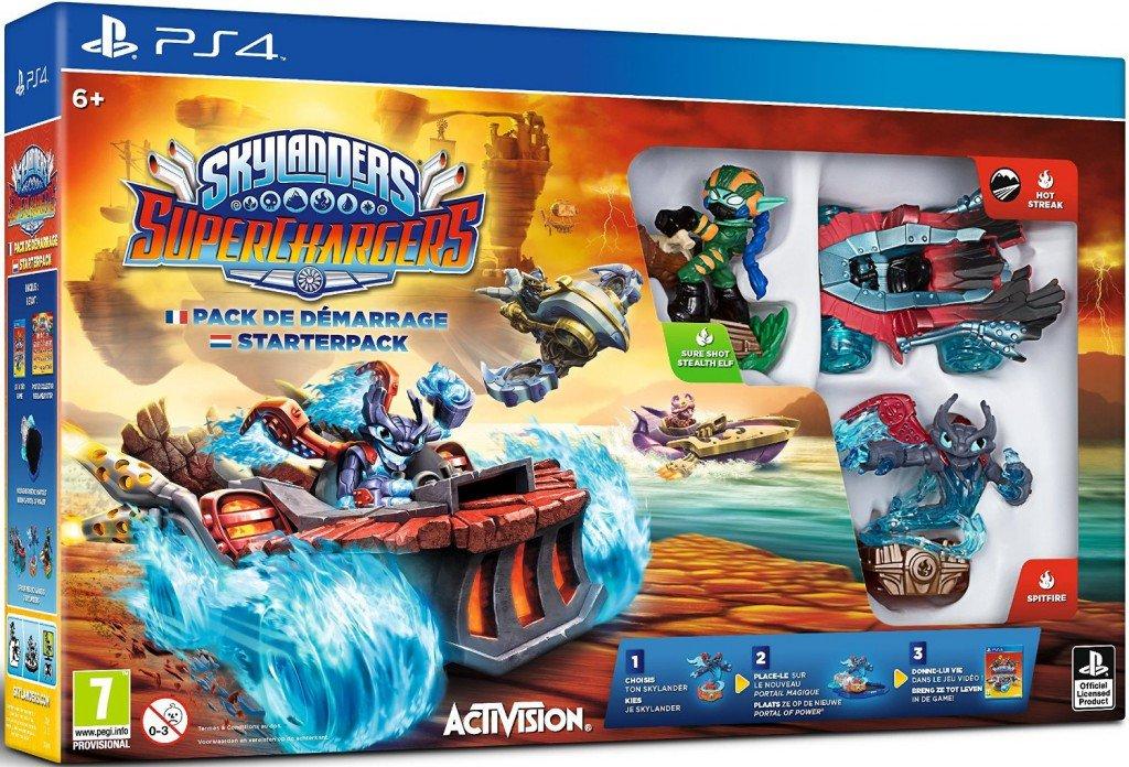 Skylanders SuperChargers boîte PS4
