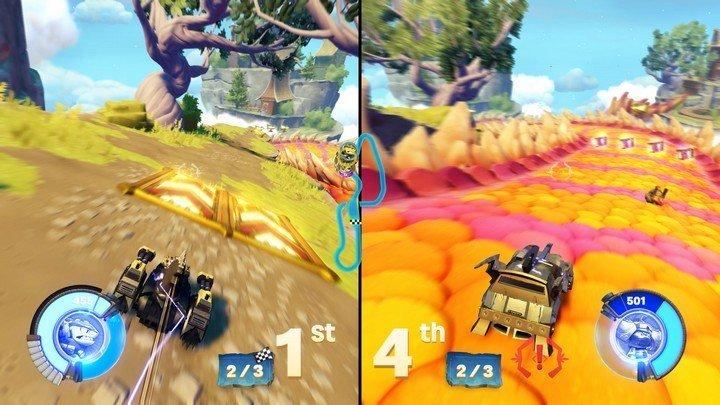 Skylanders SuperChargers gameplay