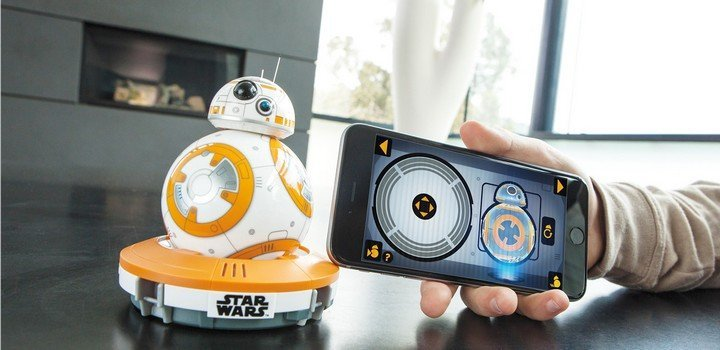 Sphero BB-8 Star Wars app