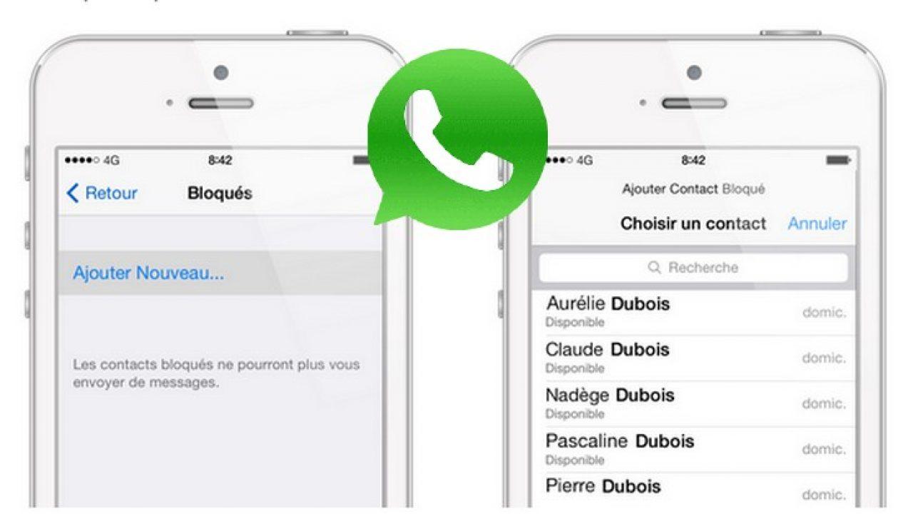 Astuce WhatsApp : comment bloquer un contact et faire le tri