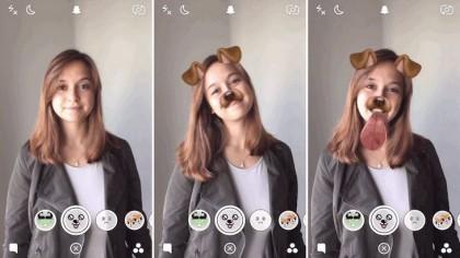 Snapchat : utiliser les filtres animés (lenses) avec tes selfies