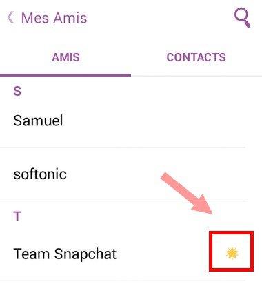 Snapchat Les Emojis Et Létoile Dans Les Contacts ça Veut Dire