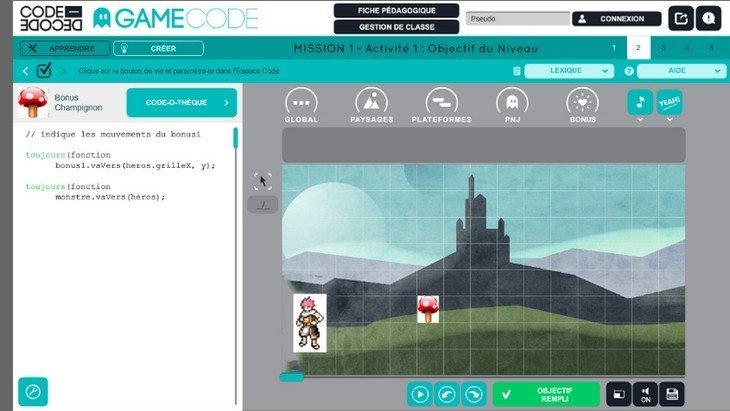 Apprends à créer un jeu vidéo à la Paris Games Week Junior