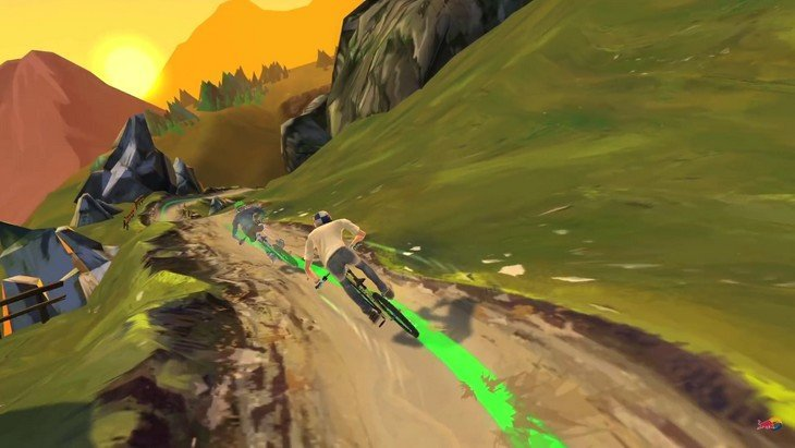 Bike Unchained : deviens champion de VTT ! (Android / iPhone)