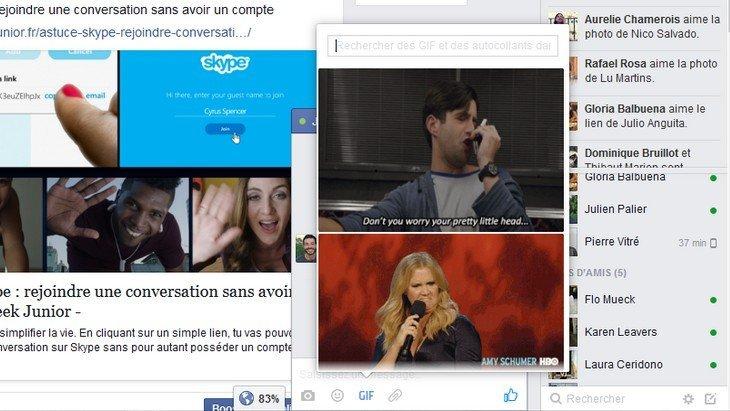 Tu vas pouvoir envoyer des GIFs avec Facebook Messenger