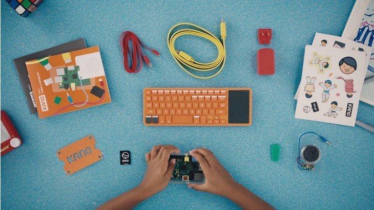 Kano, l'ordinateur à monter soi-même et pour apprendre à coder