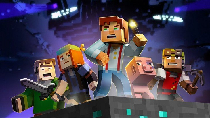 Minecraft Story Mode disponible sur Android et iPhone / iPad !