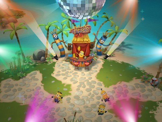 Minions Paradise fête