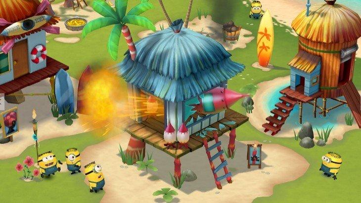Minions Paradise : les Minions de retour sur Android et iOS