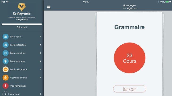 Améliorer son orthographe, c'est simple comme une application !