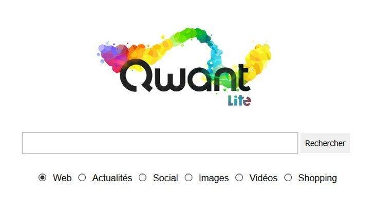 Qwant Lite, le moteur de recherche allégé tout terrain