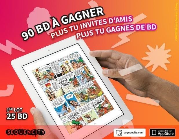 Sequencity concours BD affiche