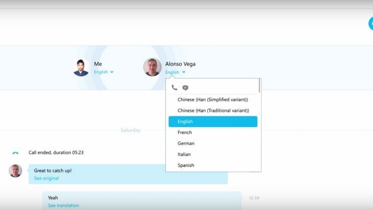 Avec Skype, tu vas parler anglais, allemand ou espagnol sans le savoir