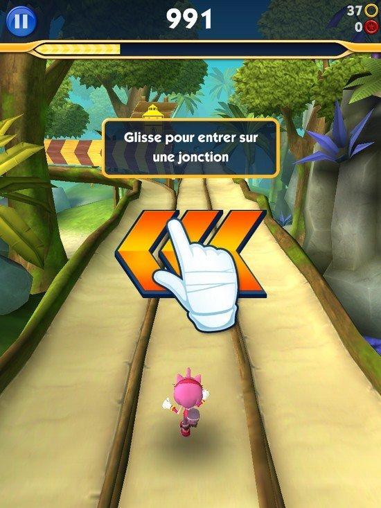 Sonic Dash 2 gameplay