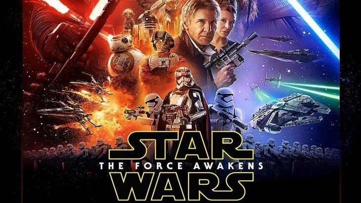 Découvre l'affiche officielle de Star Wars : Le Réveil de la Force