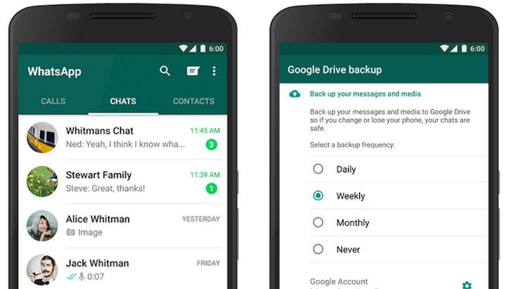 Astuce WhatsApp : comment conserver tes messages et tes photos sur Google Drive