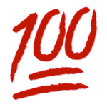 emoji 100 snapchat