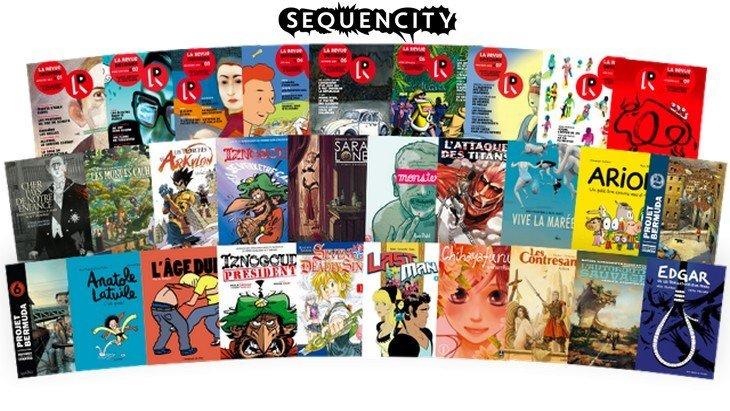 Jeu concours : plein de BD numériques à gagner avec Sequencity !