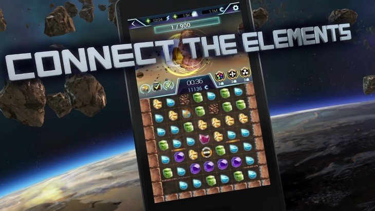 Anno 2205 : Asteroid Miner, jeu de puzzle galactique (Android /iPhone)