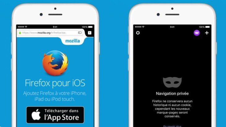 Adieu Chrome et Safari ! Firefox disponible sur iPhone / iPad
