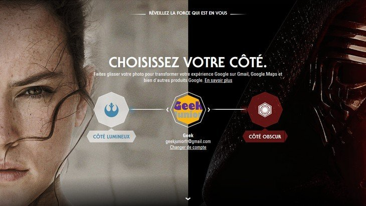Star Wars : de quel côté de la Force tes applications Google sont-elles ?