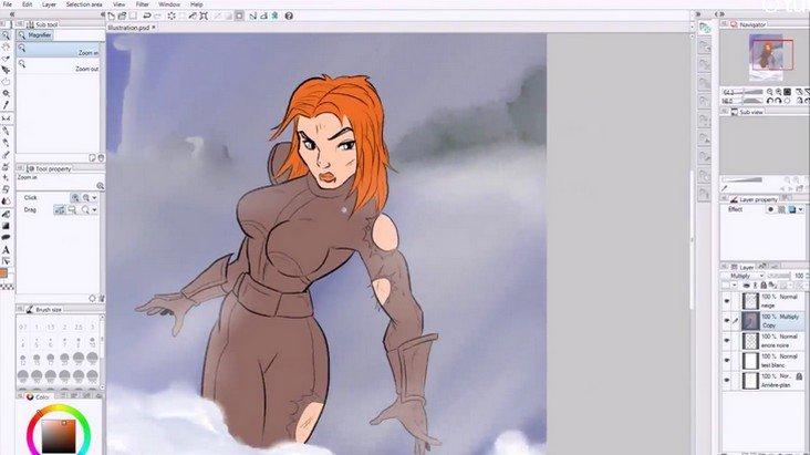 Faire des BD et mangas avec Photoshop et Manga Studio