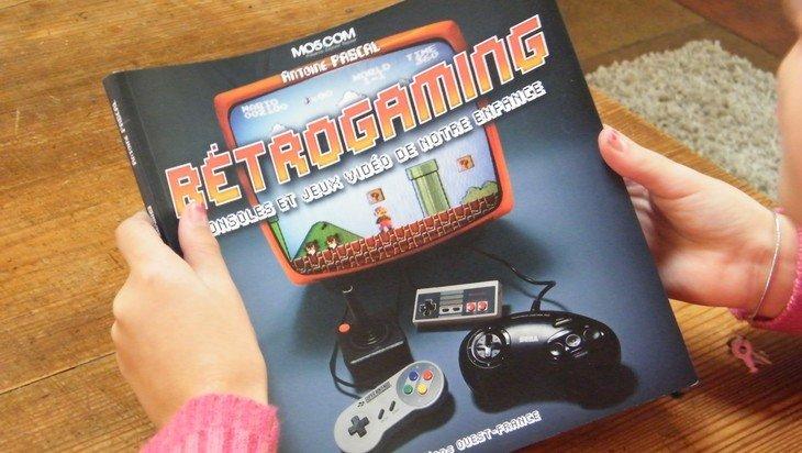Rétrogaming : le livre pour découvrir à quoi jouaient tes parents