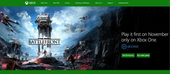 Star Wars Battlefront EA Access