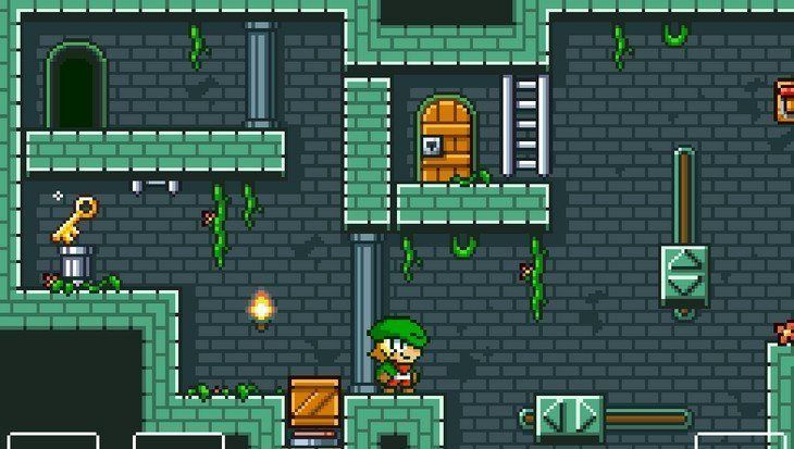 Super Dangerous Dungeons : un bon jeu au style rétro (iPhone/iPad)