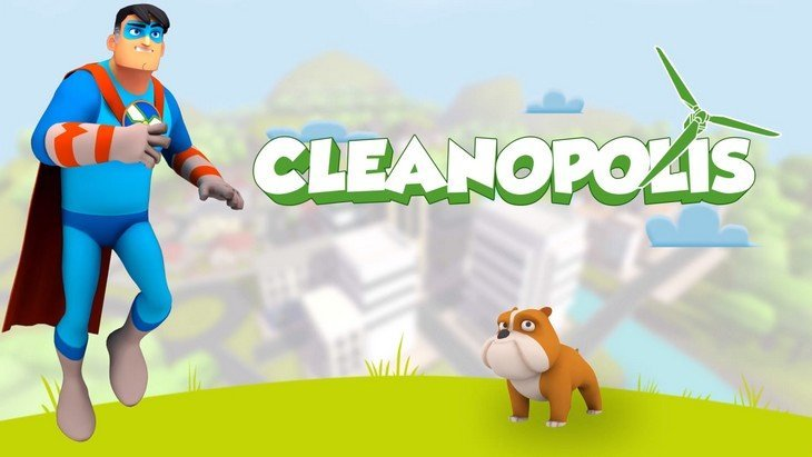 Cleanopolis : un jeu sur le changement climatique (Android / iOS) pour les kids