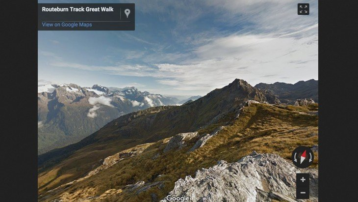 L'univers du «Seigneur des Anneaux» se visite sur Google Street View