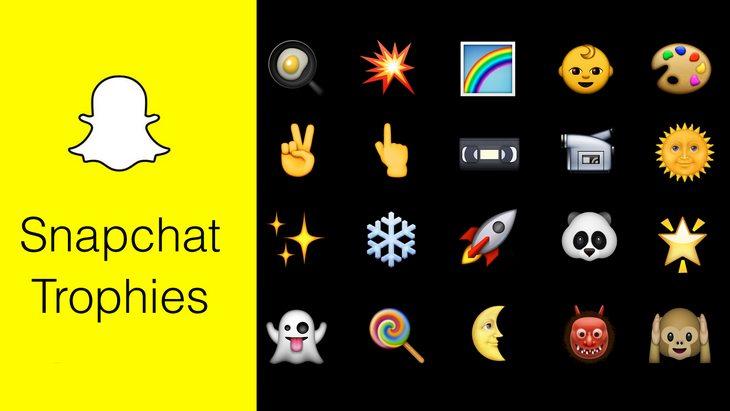 Astuce Snapchat : débloquer tous les trophées («trophies») !