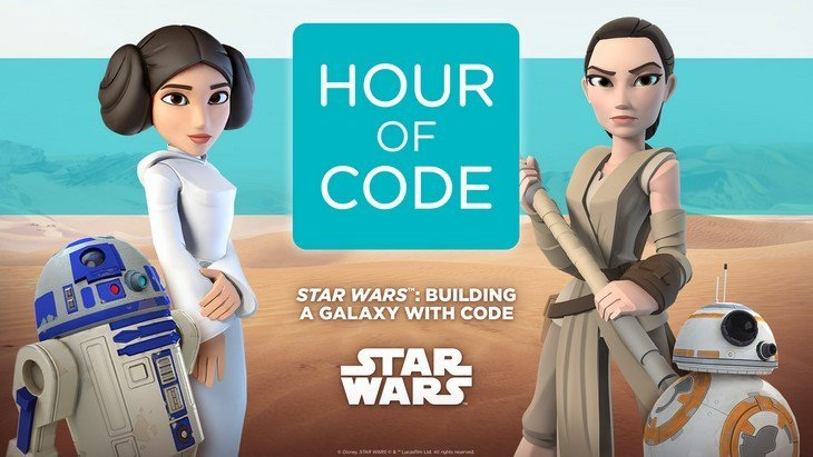 Apprends à coder avec les héros de Star Wars !