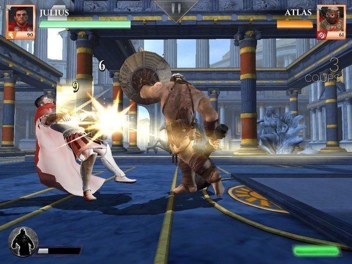 Gods of Rome combat